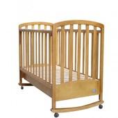 Детская кроватка Mioo BC-470M тик