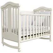 Детская кроватка Верес Соня ЛД14 белая 14.06