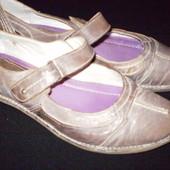 кожаные  балетки  ф.  Roberto  Santi    размер     39  -  25.5  см