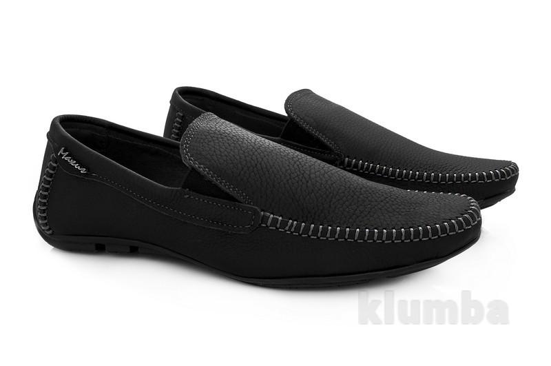 Мужские туфли-мокасины фото №1
