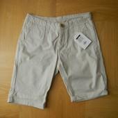 W28/EUR36 152-164 см Primark новые шорты бриджи хлопок. Длина - 49 см, пояс 36 см, бедра - 45 см