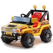 +видео! Электромобиль детский Bambi A30 R-6 радиоуправляемый, Yellow