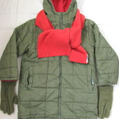 Двухстороннее пальто Okids для девочки 5-6 лет