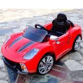 Электромобиль детский Bambi м 1603 R-3, радиоуправляемый, Porsche, цвет красный