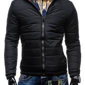 Куртка мужская дутая. В расцветках. зима. Размер:  m, l, xl  (2з