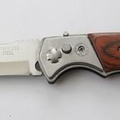 Нож выкидной с фиксатором  (8340)