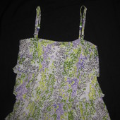 красивая блузка туника ярусами на 10-12 р-р