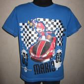 На 6-7 лет Яркая футболка Marks&Spencer мальчику
