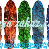 Скейтборд/скейт пенни борд (Penny Board) Happy Print Collection: 7 цветов