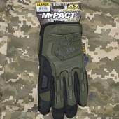 Тактические перчатки Mechanix полнопалые и безпалые.