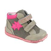 Renbut Pink Stars (кожа) 20-25 размеры ботинки для девочки
