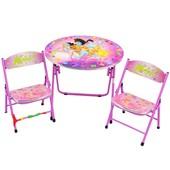 Столик Bambi DT 22-15 с двумя стульчиками, H2 Винкс