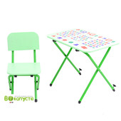 Детская парта со стульчиком Ommi Optima Зеленый