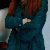 Полу-пальто с принтом деми Natiso