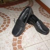 Туфлі чорні Італія в асортименті шкіра 36 37