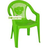 Стульчик пластиковый Kinderway Тигренок (25-031) цвет Зеленый