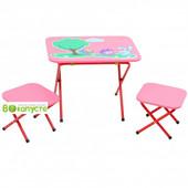 Стол с 2-мя стульчиками  Ommi Смешарик, цвет Красный