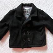 Шерстяное пальто для мальчика 6-9 мес. от  Cherokee (Чероки)
