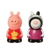 Пеппа и Зоя, игрушки-брызгунчики, 10 см. Peppa