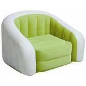велюровое кресло, Intex Cafe Club Chair 68571, цвет Lime