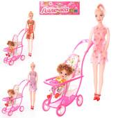 Кукла 339-1/2214 с коляской