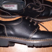 стильные кожаные туфли ф. Marc Shoes размер 40 - 26 см