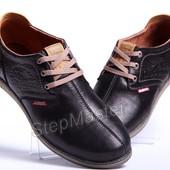 Туфли спортивные мужские Clarks Desert Urban черные