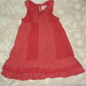 платье на 12-18 мес.
