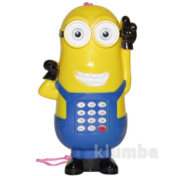 Детский телефон мобилка миньон фото №1