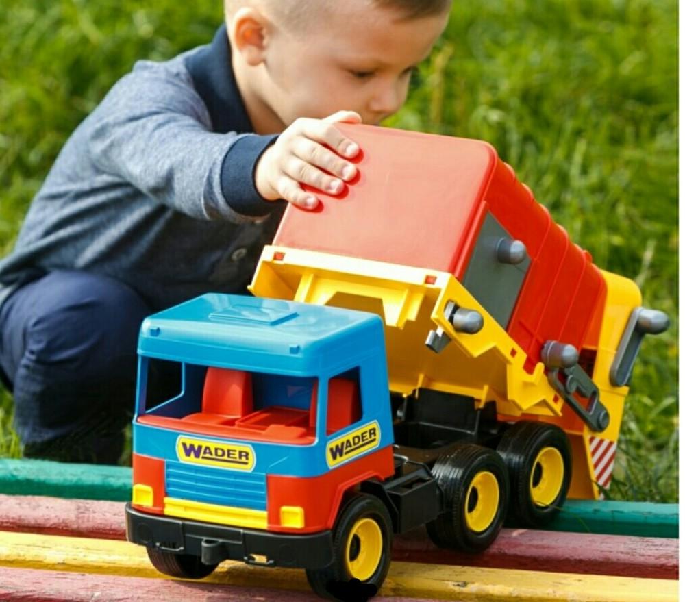 Мусоровоз middle truck wader вадер 39224 машина спецтехника мусорка фото №1