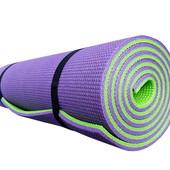 Коврик для йоги и фитнеса Premium-9