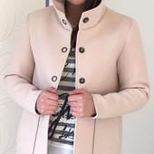 Женское неопреновое пальто из Италии, размер 44, 2 модельки.