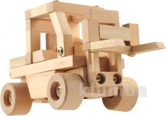 Конструктор «транспорт», 6 видов, мир деревянных игрушек артикул: д023 фото №1