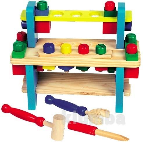 Верстак №1, мир деревянных игрушек артикул: д052 фото №1
