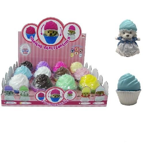 Cupcake bears мягкая игрушка серии ароматные капкейки милые медвежата 12 видов капкейк аромат фото №1