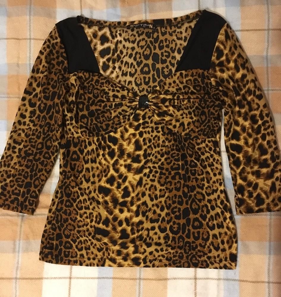 Блуза с тигровым принтом фото №1