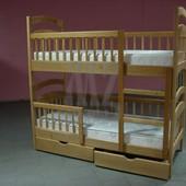 Расспродажа склада, деревянные двухъярусные кровати