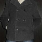 Кашемировое демисезонное пальто состояние нового