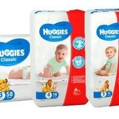 Памперсы  Haggies Classic  3,4,5 размер на выбор