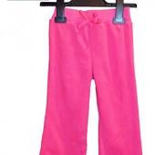 Брюки (штаны) розовые утепленные с широкой резинкой для девочек, бренд «Faded Glory» (США)