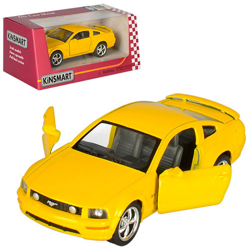 Машинка kt 5091 w ford mustang фото №1
