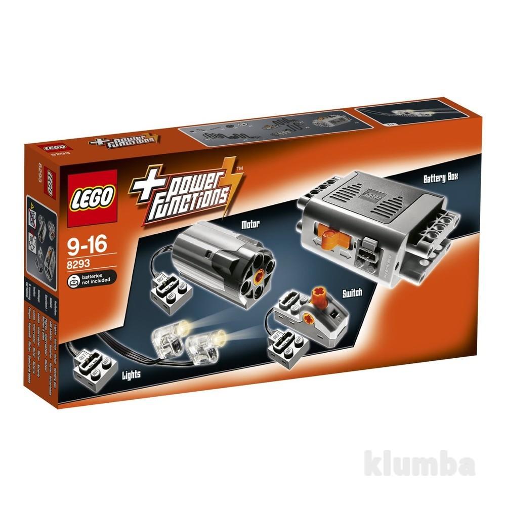 Lego technic набор с мотором power functions 8293 фото №1