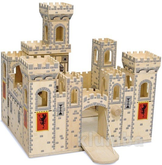 Деревянный рыцарский замок, melissa&doug артикул: md1329 фото №1