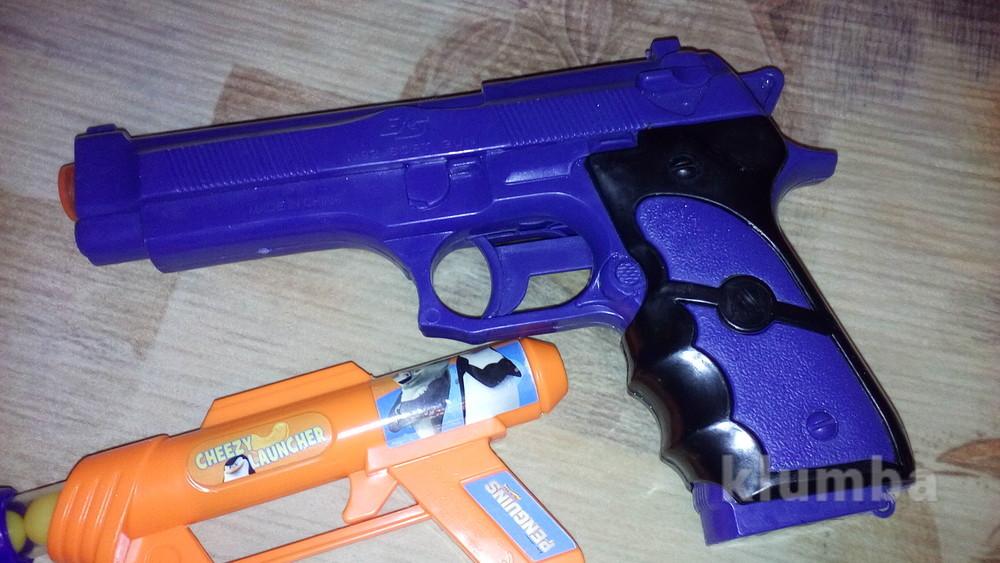 Пистолет оружие фото №1