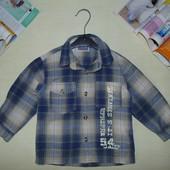 Рубашка Topolino на 12-18мес(80-86см)Мега выбор обуви и одежды!