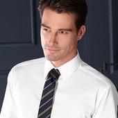 Белая бизнес рубашка для мужчин 41-42 ворот от тсм Tchibo Германия