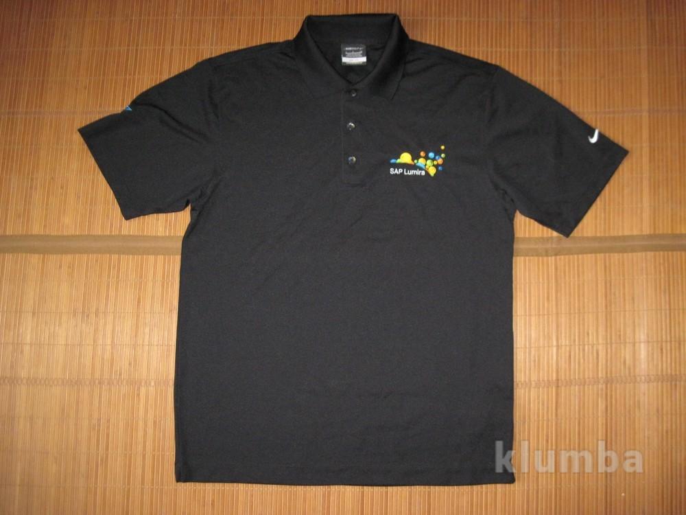 Nike fit dry (m) спортивная тенниска поло мужская фото №1