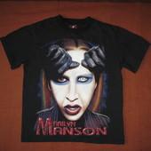 Thunder Marilyn Manson (разм. S) футболка натуральная