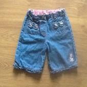 Красивые легенькие джинсы Junior 12-18 мес для девочки.