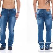 W1172 Стильные мужские джинсы 29-36 рр